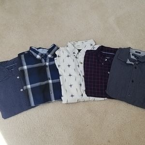 5 American Eagle button ups